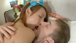 Sweet darling gets her constricted beaver ravished by stud