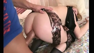 Kinky boy-friend cruelly bonks mouth and a-hole be beneficial adjacent to his girlfriend
