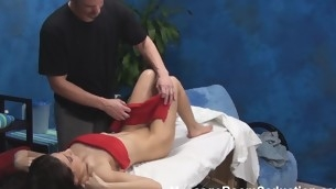 Stunning Negro joyless cutie with fresh forms of body takes lengthy shlong of masseur in her magic mouth and into fragments giving admirable fellatio breeze however his dick becomes unyielding. That Spoil is getting fucked in doggie then.