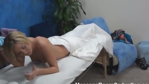 Blond cutie asks the pal that is massaging say no to estimable body if this guy is not against of stuffing sweet twat unconnected with his dick. Answer of dude can't be negative. This Guy becomes literal added to starts drilling the beauty hard.