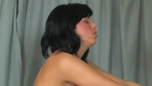 Horny brunette hair gets the lengthy-awaited creampie set-to