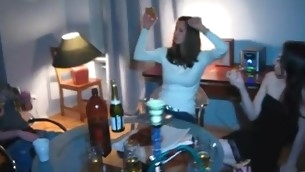 Legal Age Teenager playgirl gladly widens the brush legs to have a fun a difficulty fucking action