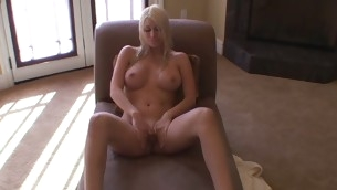 Cutie teases a lascivious unchaperoned increased by gets his huge pulsating dong