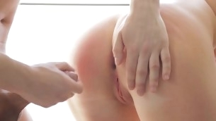 The temperatures are rising with horny couples anal playing