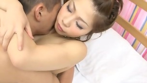 Oriental hotty feels rod of their way boyfriend stuffing all wet holes