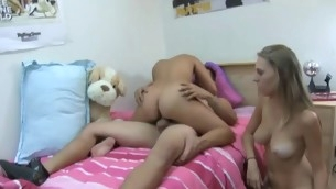 Chicks are attracting coils riding on unparalleled stud's hard pecker