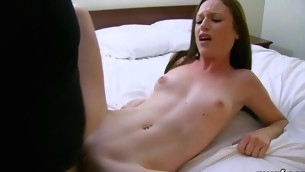 Filthy-minded youthful fuckmeet plant on a large hard wang