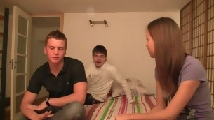 After showing off her elastic boobies our legal age teenager playgirl gets nailed