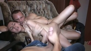Watch in what way this generous muscular stranger into fragments massaging her inamorato body in anticipation of wonderful banging.