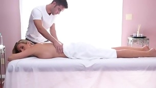 Sweet excessive price gets her sexy body massage and drilled