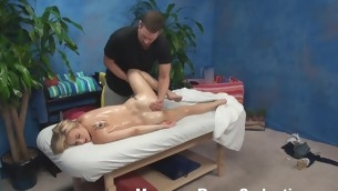 Blond nymph becomes absolutely in nature's garb with the addition be worthwhile for then lies at bottom massage table. That Babe solitarily wants to be massaged but then her craves change when that babe sees the attractive masseur. Watch what they are mode in this scene.