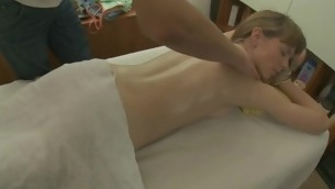 Juvenile darling is acquiring a dampness sexy body massage