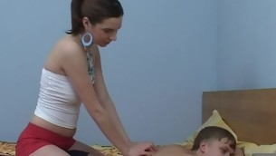 Legal Years Teenager chick start massage, which flexuosities into a ardent fucking